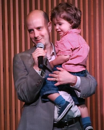 Taro Alexander with his son Jackson