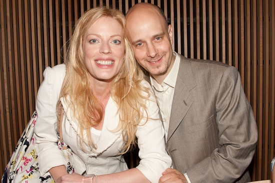 Sherie Rene Scott and Taro Alexander at Our Time 'LISTEN' CD Release Event At Barnes and Noble East Side