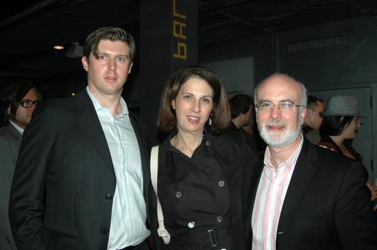 Matthew Reeve, Deb Lapidus, Larry Yurman (Musical Director)