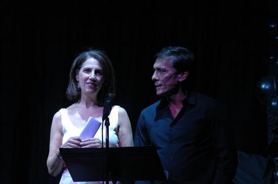 Deb Lapidus and Michael Manganiello (The Christopher & Dana Reeve Foundation)