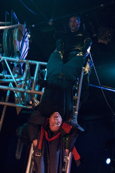 Photo Flash: 500 CLOWN AND THE ELEPHANT DEAL Runs At Steppenwolf 6/25-7/11