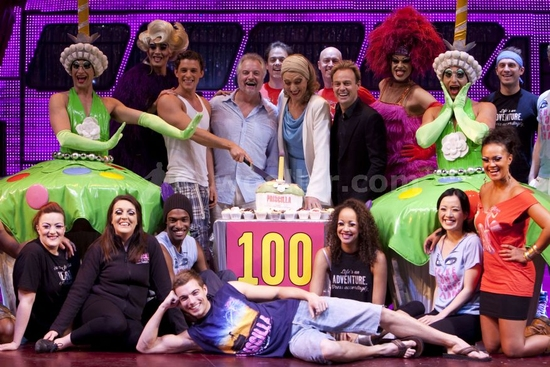 Photos: PRISCILLA QUEEN OF THE DESERT Celebrates 100th Performance
