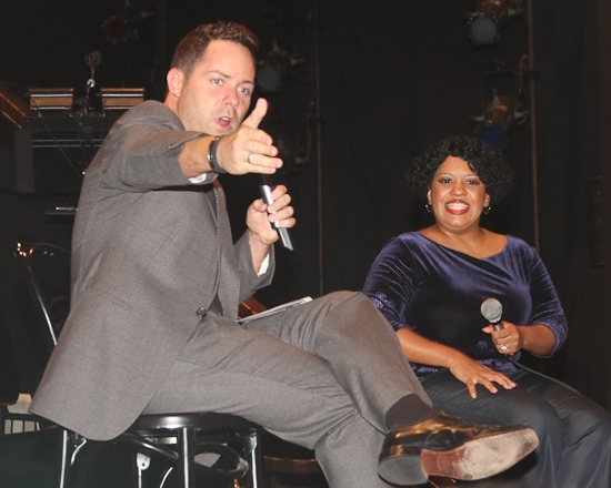 Duncan Stewart and Chandra Wilson