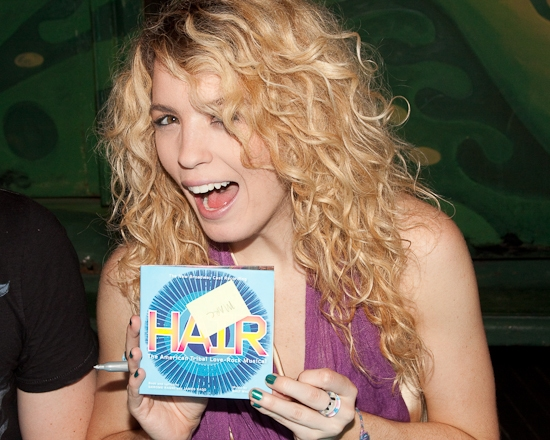 Photo Coverage: Tony Award Winner HAIR's On Stage CD Release 'Sign In' Celebration