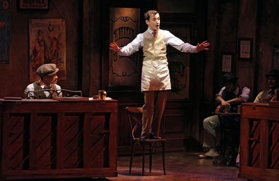 Randy Aaron and Michael Therriault at Roundabout's New Off-Broadway Musical TIN PAN ALLEY RAG