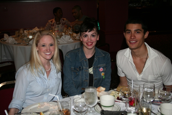 Pamela Otterman, Lindsay Dunn and Christian Ortiz