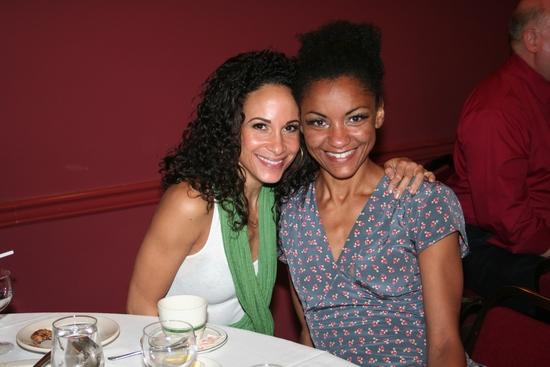 Natalie Turner and Angelica Edwards