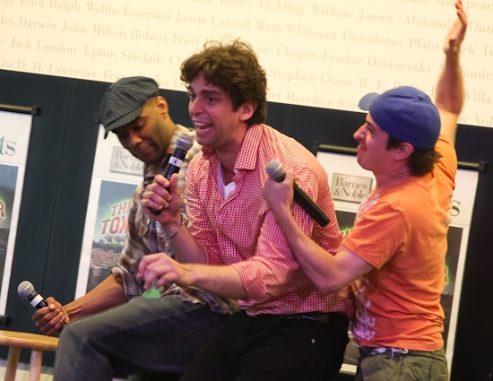 Photo Coverage: 'TOXIC AVENGER' Celebrates CD at Barnes and Noble Lincoln Triangle