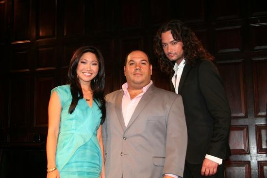 Julie Chang, Nick Sala and Constantine Maroulis