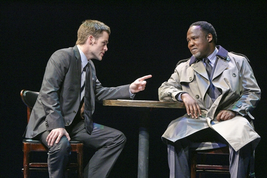Chris Pine and Isiah Whitlock, Jr.
