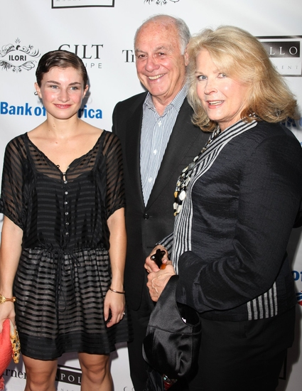 Chloe Malle, Marshall Rose and Candice Bergen