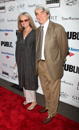 Lynn Louisa Woodruff and Sam Waterston