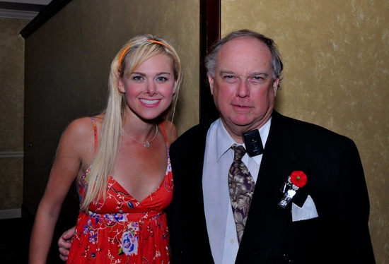 Laura Bell Bundy and John Witherspoon