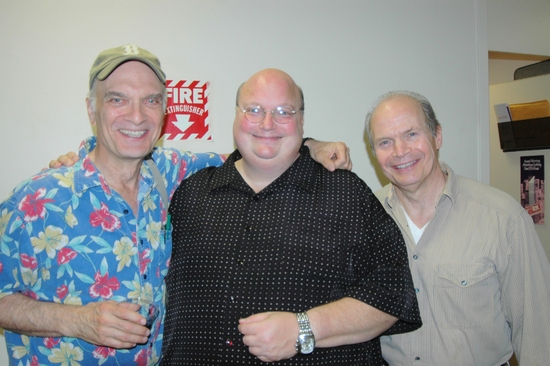 Walter Charles, Rick Stonebeck and William Parry