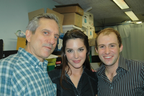 Martin Vidnovic, Kelli Barrett, and Nick Gaswirth