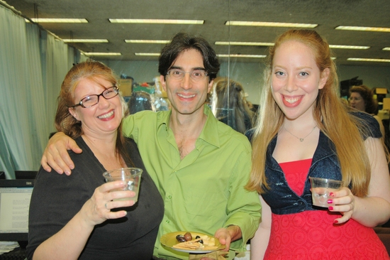 Cyrilla Baer, Michael Unger and Jennifer Ashley Tepper (Assistant Director)
