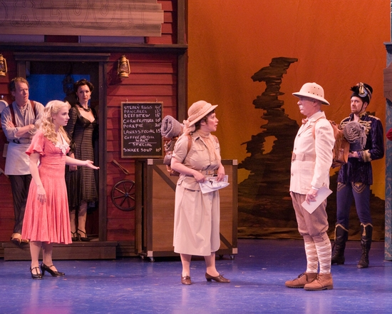Photo Flash: CRAZY FOR YOU, Starring Yazbeck And Goldyn, Plays At MSMT Through 7/11