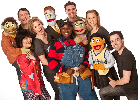 Photo Flashback: Farewell To Broadway's AVENUE Q - The Final Cast