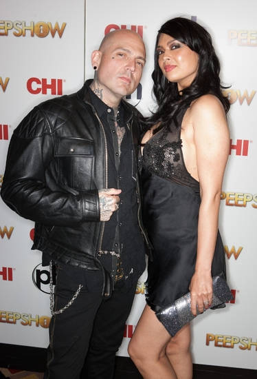 Evan Seinfeld and Tera Patrick