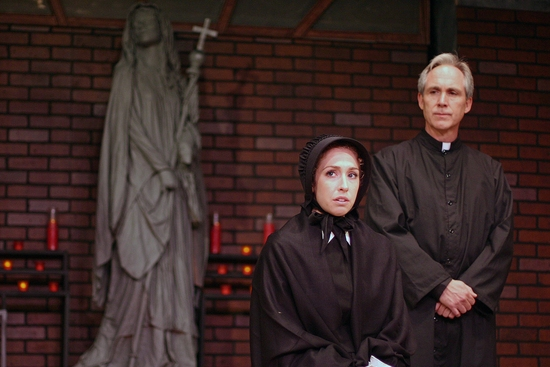 Jessica Alex and J. Scott Williams at TheatreWorks New Milford Presents DOUBT, Plays Through 8/1