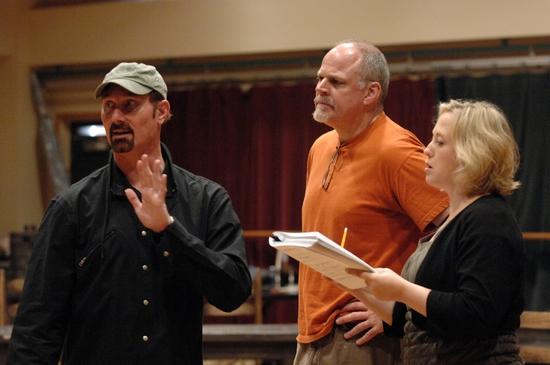 Barry Ivan, Tim Hartman, and Sally Wilfert