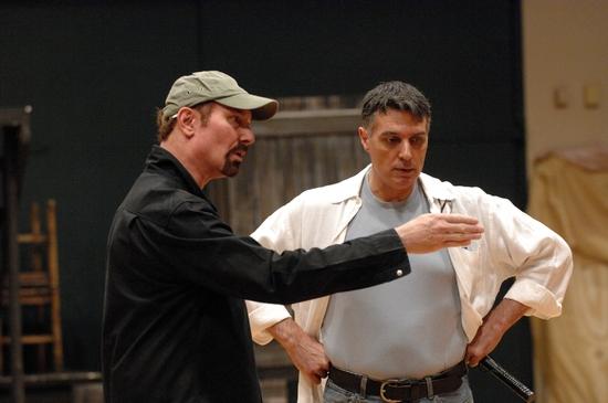 Barry Ivan and Robert Cuccioli
