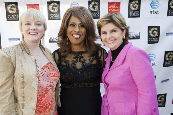 Alison Arngrim, Jennifer Holliday and Gloria Allred