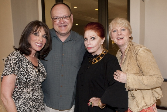 Kate Linder, Bruce Mayhall (Conductor/Artistic Director), Carole Cook and Alison Arngrim