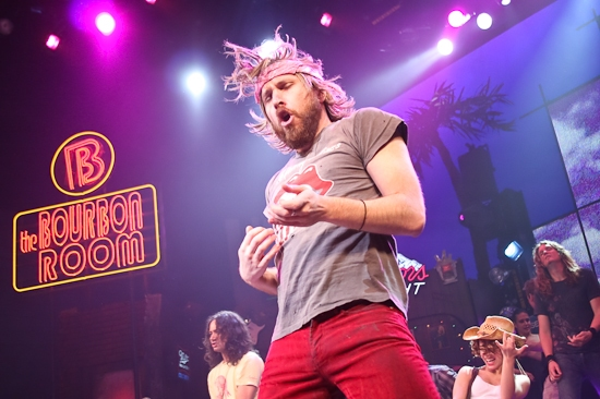 Photo Coverage: ROCK OF AGES Breaks Guinness World Record for Largest Air Guitar Ensemble!