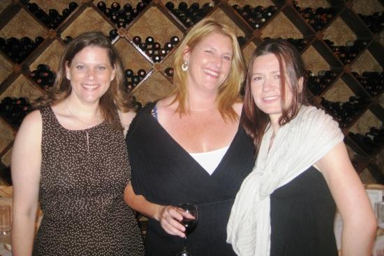 Toby Boshak, Bridget Carpenter, and Jelena Tadic (Program Manager, PGF-USA)