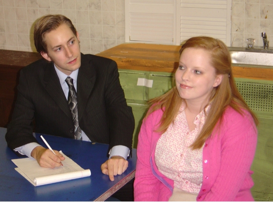 Ben Cramer (Barnette) and Kelsey Celek (Babe)