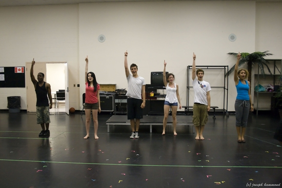 Photo Flash: Open Rehearsal For Toronto's HIGH SCHOOL MUSICAL 2, Begins 7/14