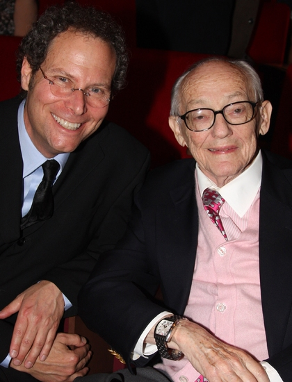 Pittsburgh CLO Executive Producer Van Kaplan and James M. Nederlander at The First Annual JIMMY Awards