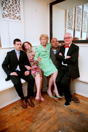 Haskell King, Lisa Ebersole, Holland Taylor, Keith Randolph Smith, and Buck Henry