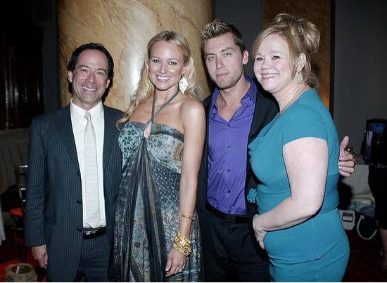 Joel Flatow, Jewel, Lance Bass and Caroline Rhea
