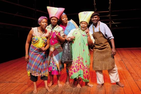 Lungelwa Mdekazi, Zolina Ngejane, Unathi Habe, Noluthando Domza Sishuba and Xolani Momo
