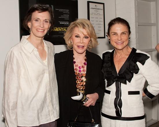 Tandy Cronyn, Joan Rivers, and Tovah Feldshuh