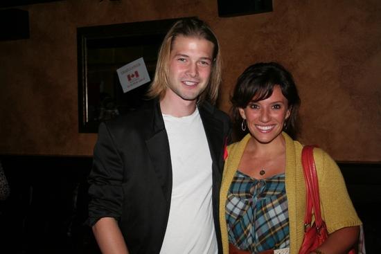 Brandon Ruckdashel and Natalie Hill