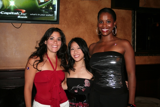 Cathryn Basile, Kay Trinidad and Zakiya Young Mizen