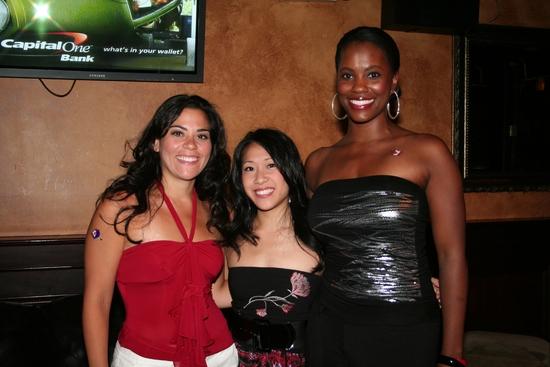 Cathryn Basile, Kay Trinidad and Zakiya Young Mizen