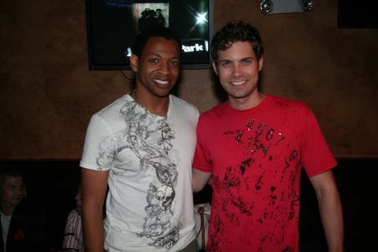 Derrick Baskin and Drew Seeley