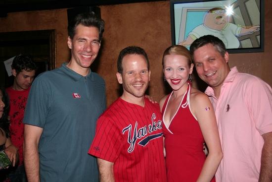 Photo Coverage: 'Broadway' Celebrates Canada Day 2009