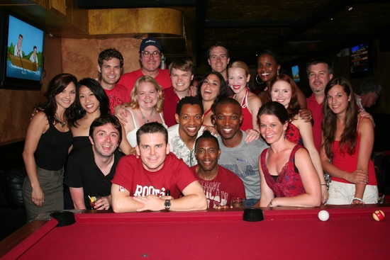 Photo Coverage: 'Broadway' Celebrates Canada Day 2009