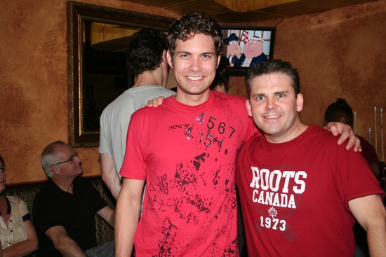 Drew Seeley and Robert Creighton