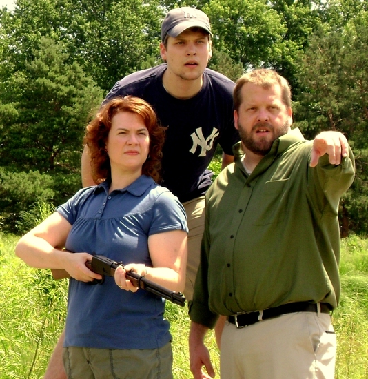 Amy Lane, Sean Carlson, and Scott Working