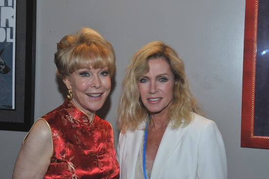 Barbara Eden and Donna Mills