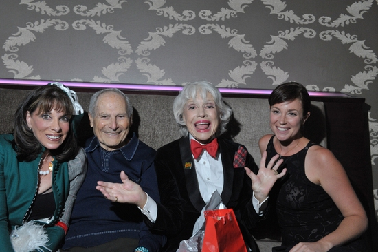 Kate Linder, Harry Kullijian, Carol Channing and Kim Rhodes