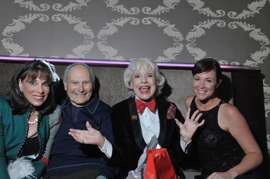 Kate Linder, Harry Kullijian, Carol Channing and Kim Rhodes