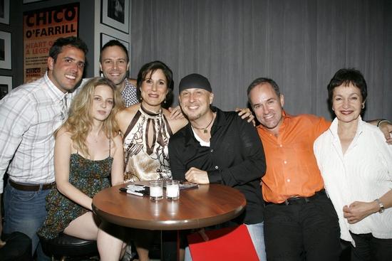 Scott Alan, Amanda Yesnowitz, Scott Loessel, Stephanie J. Block, Steve Marzullo, Stephen Flaherty and Lynn Ahrens