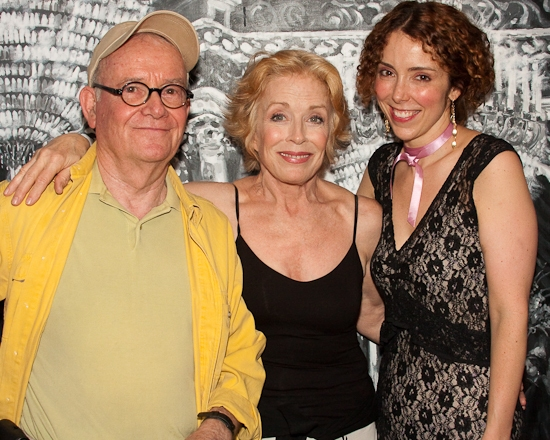 Buck Henry, Holland Taylor, and Lisa Ebersole